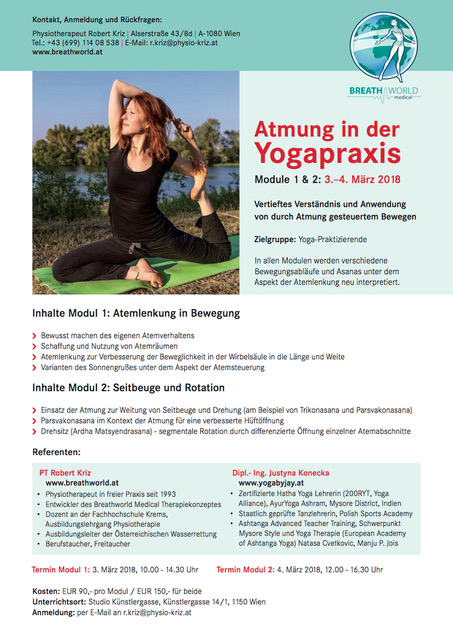 Atmung in der Yogapraxis- Workshop